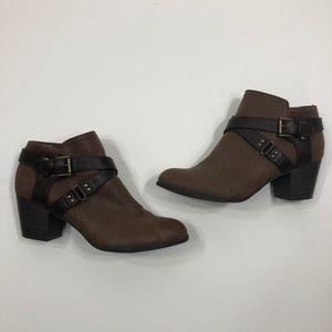 Indigo Rd. Sablena 2 Brown Booties Size 10